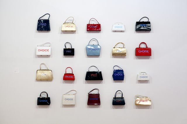 , 'Pred-a-Porter: Pro Choice Purses,' 2014, Nancy Hoffman Gallery