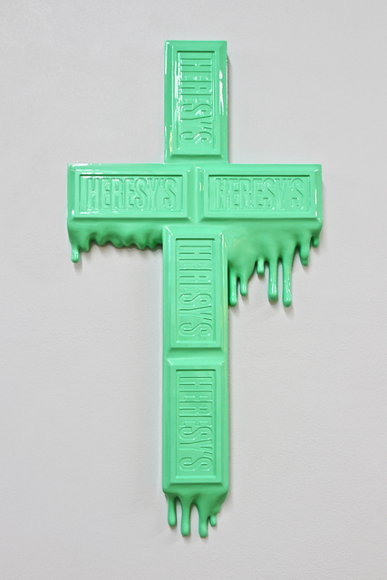 , 'Heresy's Cross -Mint Chocolate,' 2012, Bluerider ART