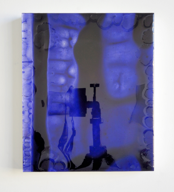 , '12 by 10 (deep blue) redux,' 2011, SOCO GALLERY