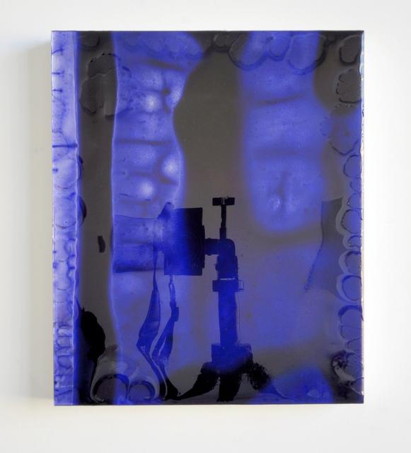, '12 by 10 (deep blue) redux,' 2011, SOCO GALLERY