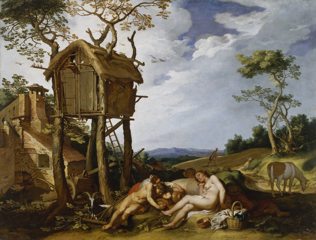 Abraham Bloemaert, 'Parable of the Wheat and the Tares', 1624, Painting, Oil on Canvas, Walters Art Museum