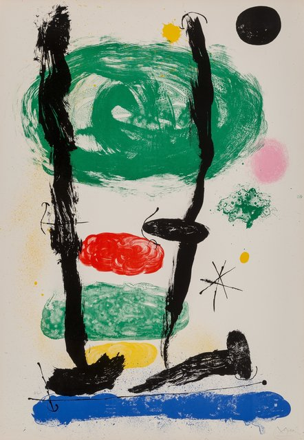 Joan Miró, 'The Watchers', 1964, Heritage Auctions