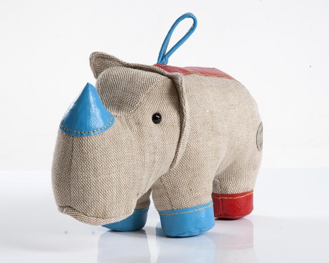 ", 'Medium ""Therapeutic Toy"" Rhinoceros,' 1969/2012, R & Company"