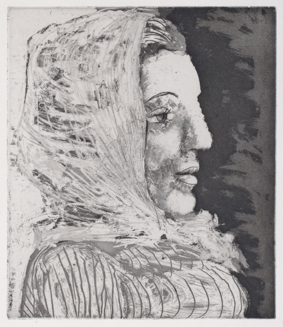 , 'Buste de Femme au Fichu. Girl in a Scarf. Portrait of Marie-Thérèse Walter.,' 1939, William Weston Gallery Ltd.
