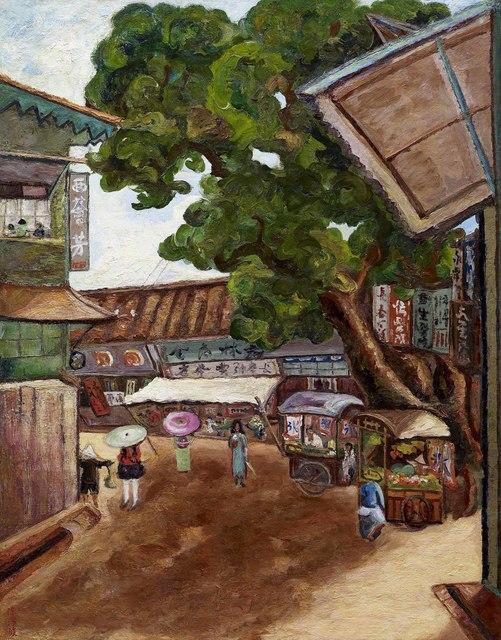 , 'West Huifang,' 1932, Liang Gallery