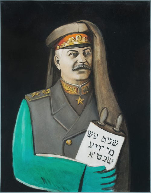 , 'Stalin with Tora,' 1986, Galerie Sébastien Bertrand