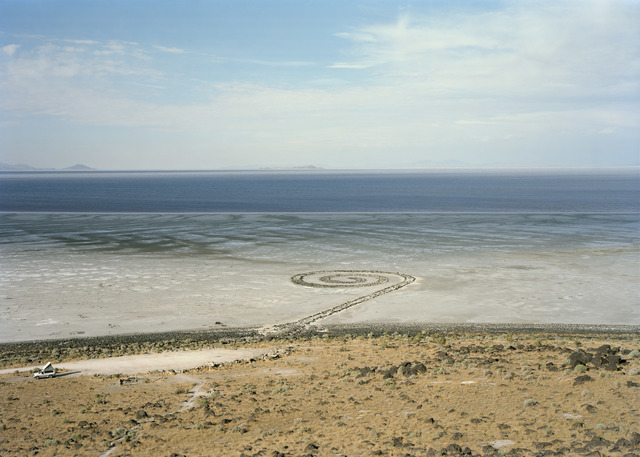 Victoria Sambunaris, 'Untitled (Homage to Robert Smithson, Spiral Jetty, Great Salt Lake, Utah)', 2016, Yancey Richardson Gallery