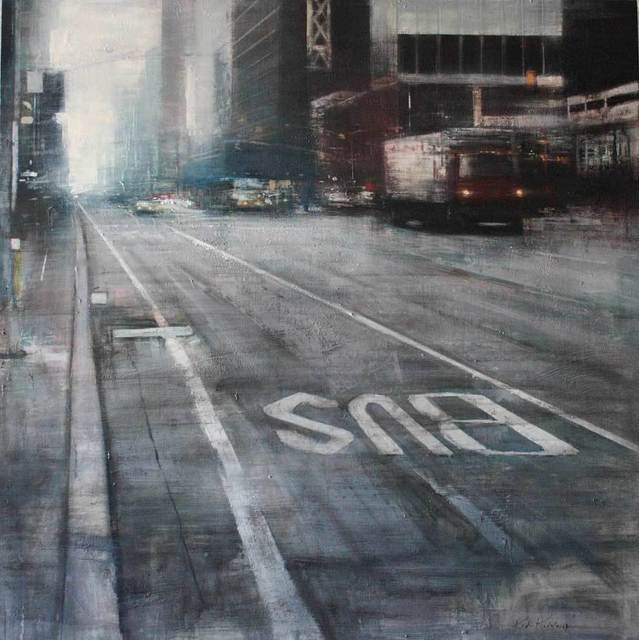 , 'Cloudy Morning, Manhattan,' , Adam Gallery