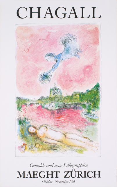 Marc Chagall, 'Pink Opera-Opera Rose', 1981, Ephemera or Merchandise, Offset Lithograph, ArtWise