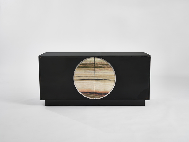 , 'Cabinet with Marble Disc,' ca. 1974, Demisch Danant