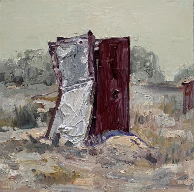 Hung Liu, 'Duster Shack 6', 2019, Nancy Hoffman Gallery