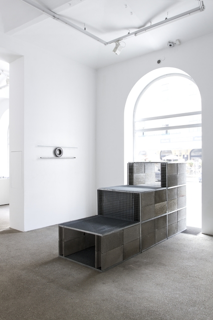 , 'Schacht horizontal,' 2018, Galerie Elisabeth & Klaus Thoman