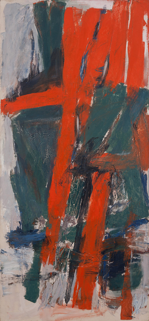 Jack Tworkov, 'Wednesday', 1959, Painting, Oil on canvas, Michael Rosenfeld Gallery