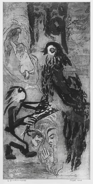 , 'Fortuneteller Bird 算命鸟,' 1998, Ink Studio