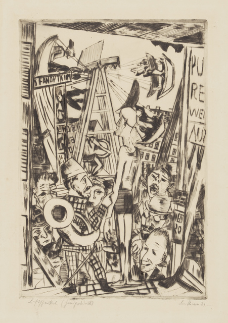 , 'The Tall Man,' 1921, Galerie St. Etienne