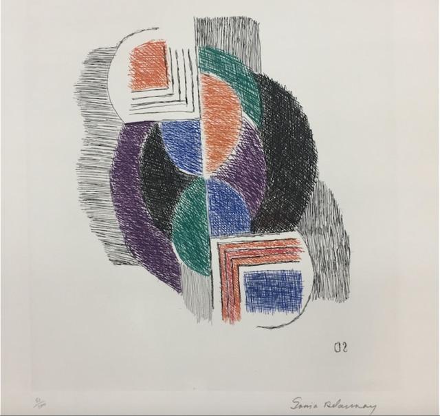 Sonia Delaunay, 'Composition', 1965, Kunzt Gallery