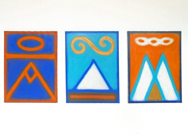 , 'Triptych,' 1988, The Painting Center