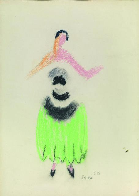 Sonia Delaunay, 'Robe De Soir', 1926, Itineris
