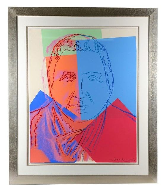 Andy Warhol, 'Gertrude Stein (from Ten Portraits of Jews of the Twentieth Century)', 1980, Joseph Fine Art LONDON