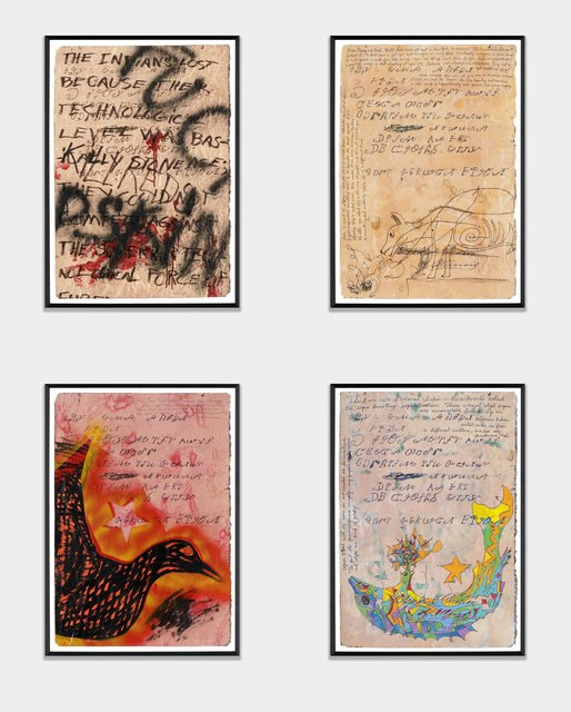 , ' Zeke Proctor's Letter,' 1989, Hammer Museum