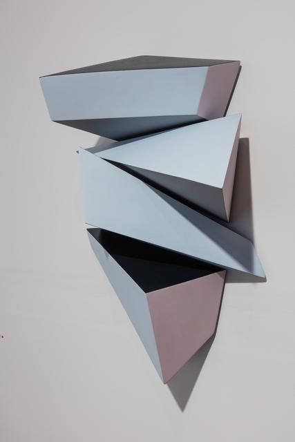 , 'Calving Sequences (a-d): Blue,' 2017, International Sculpture Center