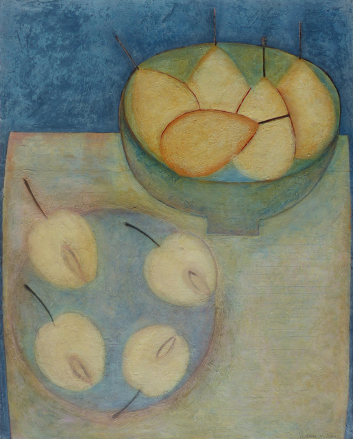 , 'Pears & Apples,' 2018, Thackeray Gallery