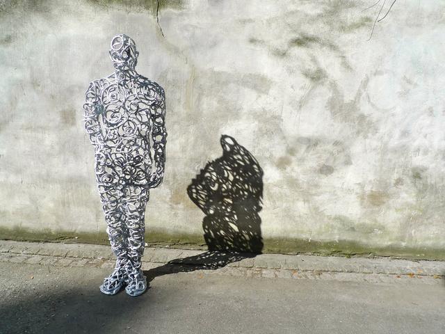 Hans Thomann, 'Der Schatten Der Freude Macht', 2012, GALERIE URS REICHLIN