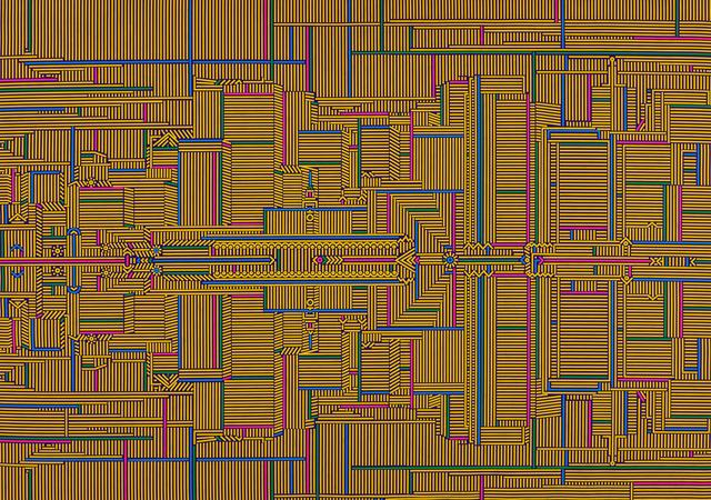 Lu Xinjian 陆新建, 'San Francisco 旧金山', 2017, ART LABOR Gallery