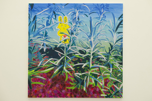 , 'Yellow Rabit has luminous red,' 2017, Tomio Koyama Gallery