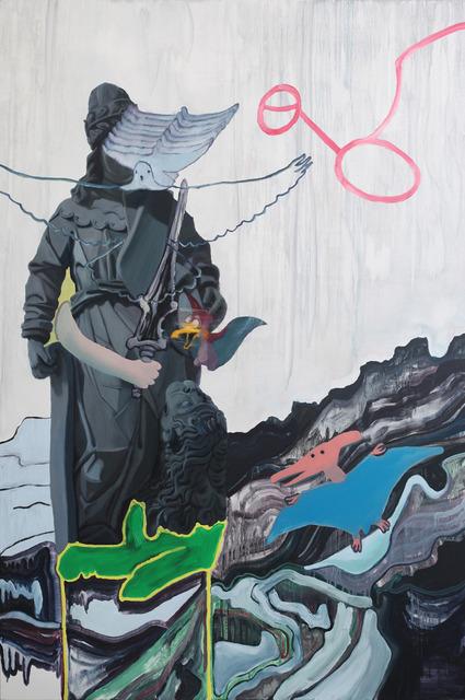 , 'O vento os levou e deles não se viram mais vestígios,' 2013, Portas Vilaseca Galeria