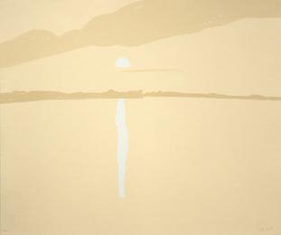 Sunset: Lake Wesserunsett 4