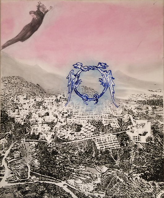 , 'Untitled (Yves Klein in Gaza),' 1993, Setareh Gallery