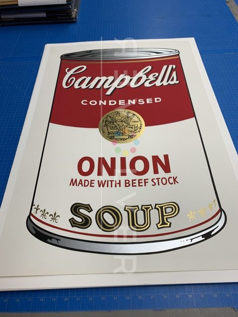 Andy Warhol, 'Campbell's Soup I: Onion (FS II.47)', 1968, Print, Screenprint on Paper, Revolver Gallery