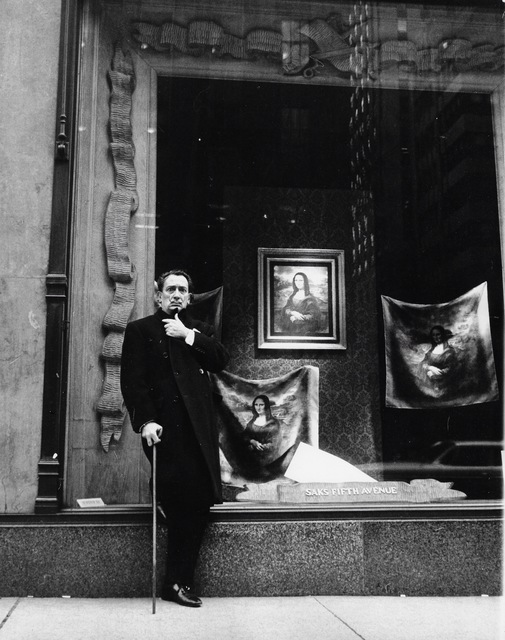 , 'Salvador Dali in Front of Saks Fifth Avenue,' 1965, Staley-Wise Gallery