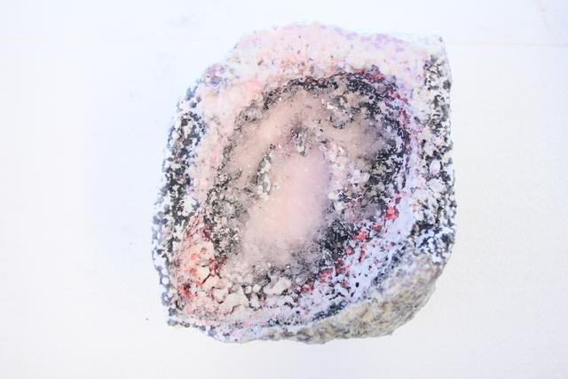 , 'Geode 2,' 2017, heliumcowboy