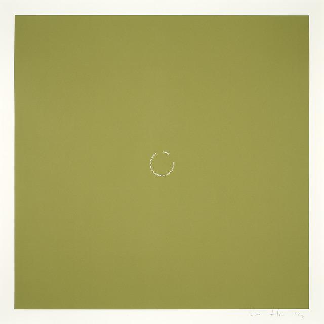 Roni Horn, 'Agua Viva: The tiniest piece…', 2004, Galleria Raffaella Cortese