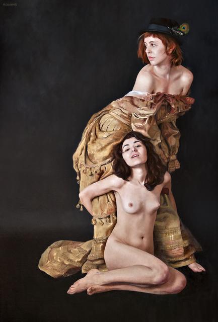 , 'The Golden Gown,' , Sirona Fine Art