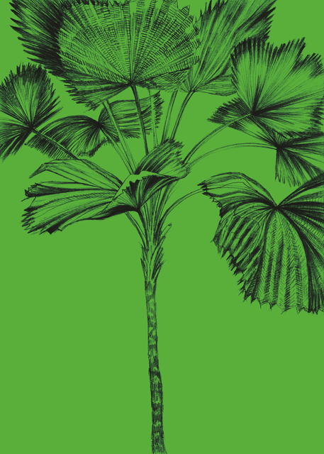 , 'Palm Tree Session 2,' 2017, PPC Philipp Pflug Contemporary