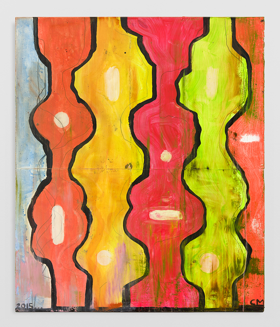 , 'Untitled tree painting,' 2014-2015, David Kordansky Gallery