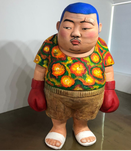 , 'Angry Boxer,' 2019, Nil Gallery