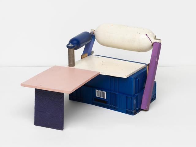 , 'reclining fender chair ,' 2016, Maccarone