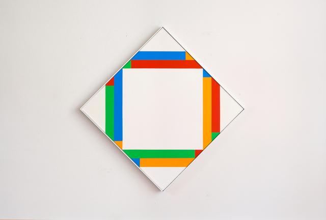, 'rhythmus mit gleichen quanten ,' 1975, Galerie Knoell, Basel