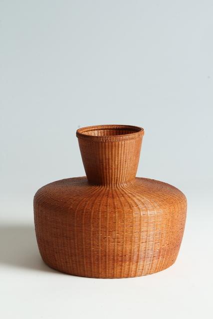 Tanabe Chikuunsai II, 'Bamboo Basket (T-3884)', Shōwa era (1926–89) 1970s, Erik Thomsen