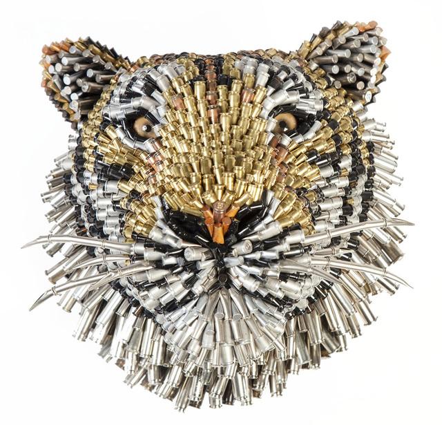 , 'Tiger Head,' 2017, LGM Arte Internacional