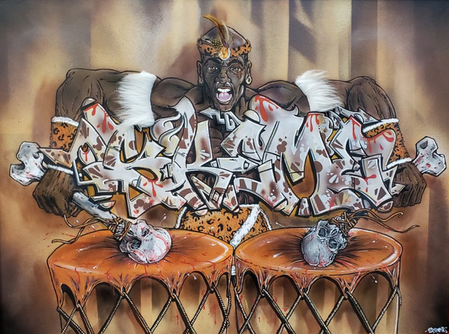 Skeme, 'Bloody Drums', 2019, Corey Helford Gallery