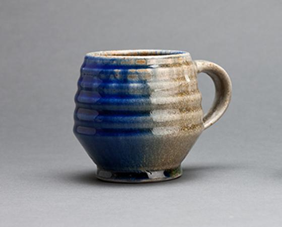 , 'Mug, ash and cobalt glaze,' , Pucker Gallery