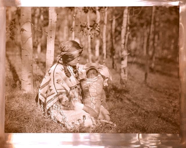 , 'Assiniboin Mother and Child,' 1926, Bruce Kapson Gallery