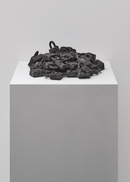 Daniel Arsham, 'Ash Eroded Locks', 2013, Sculpture, Volcanic ash, shattered glass, hydrostone, Galerie Ron Mandos