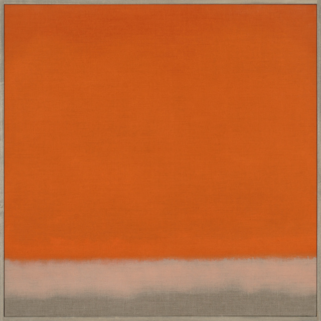 , 'Untitled (Red Orange),' 2014, Berry Campbell Gallery