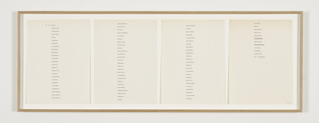 , 'It is whole,...,' 1970, Galerie Greta Meert